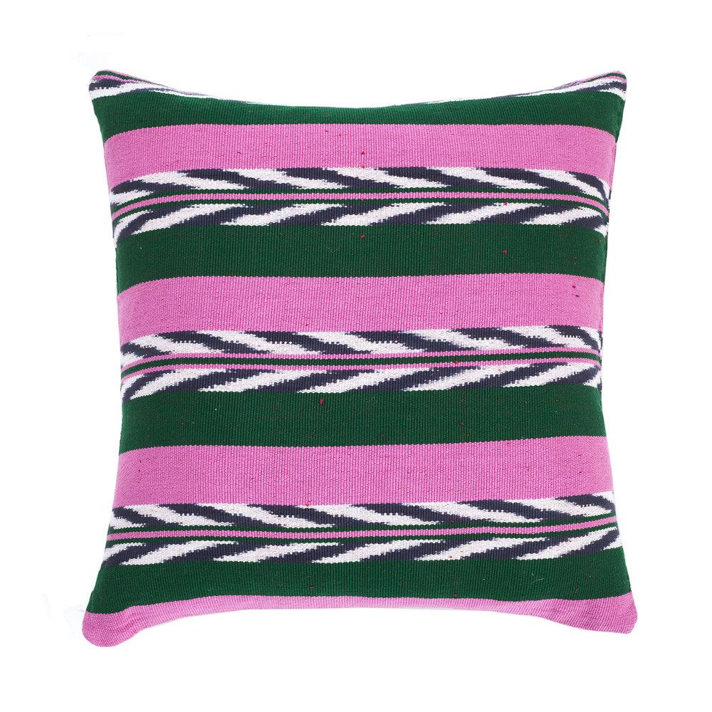 "Archive New York Palm Ikat Pillow 20"" x 20"" Archive New York"
