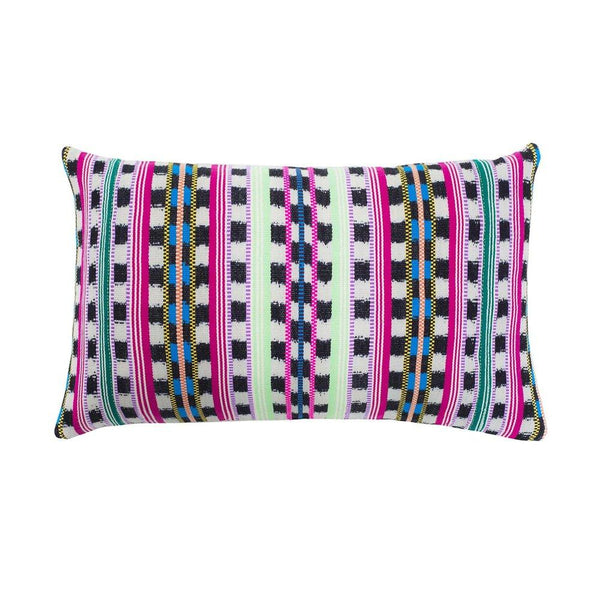 Archive New York Santiago Atitlan Pink & Lime Pillow Archive New York