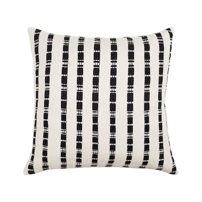 "Archive New York Santiago Grid Pillow - 18""x18"" Archive New York"
