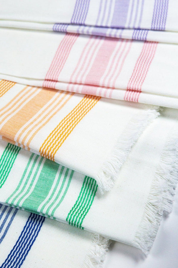 Archive New York White & Lilac Kitchen Towel Archive New York