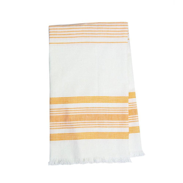 Archive New York White & Orange Kitchen Towel Archive New York