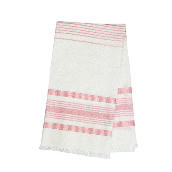 Archive New York White & Pink Kitchen Towel Archive New York