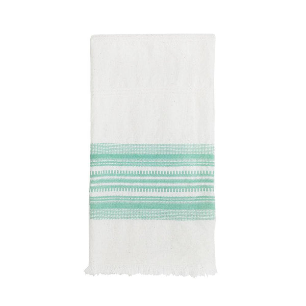 Archive New York White & Mint Kitchen Towel Archive New York