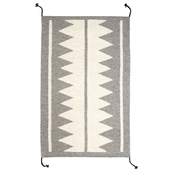 Archive New York Zapotec Grey Rug #7 Archive New York