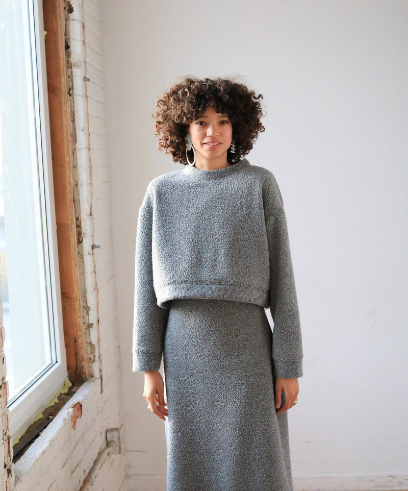 Arielle Mercury Sweater, Recycled Wool sweater Arielle