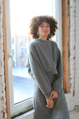 Arielle Mercury Sweater, Recycled Wool sweater Arielle -14730587701311