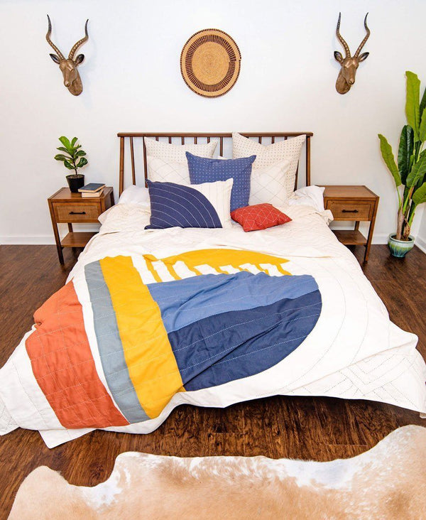 Ascend Throw Quilt Anchal Project