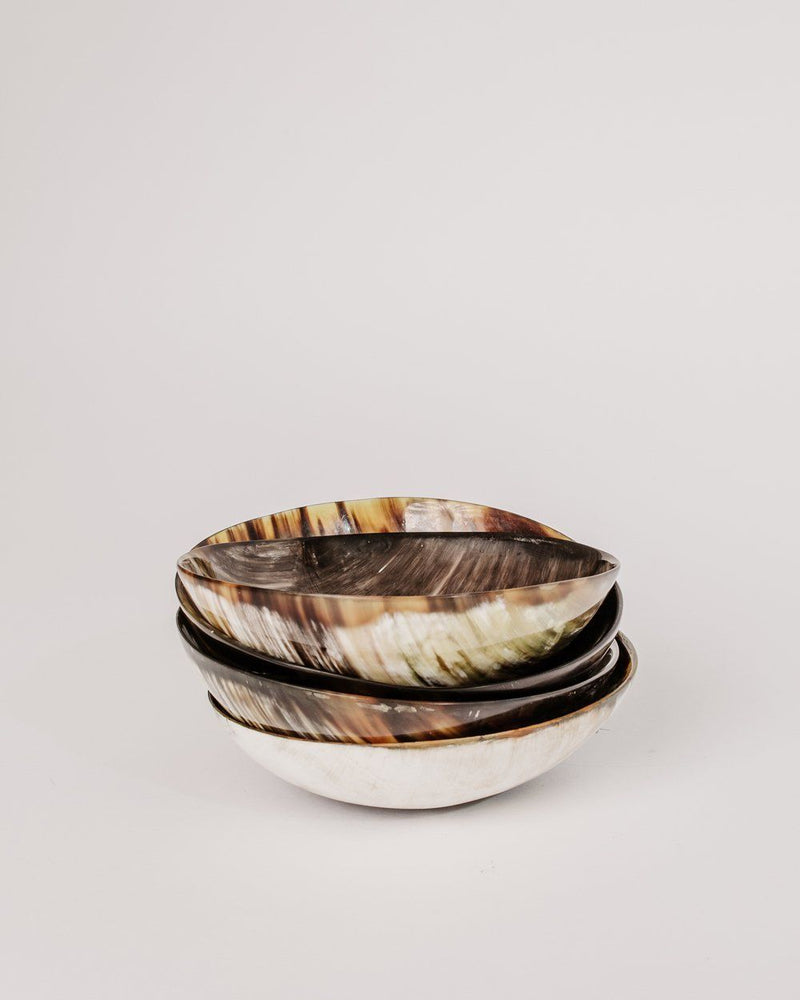 August Sage Ankole Horn Bowl Tabletop August Sage