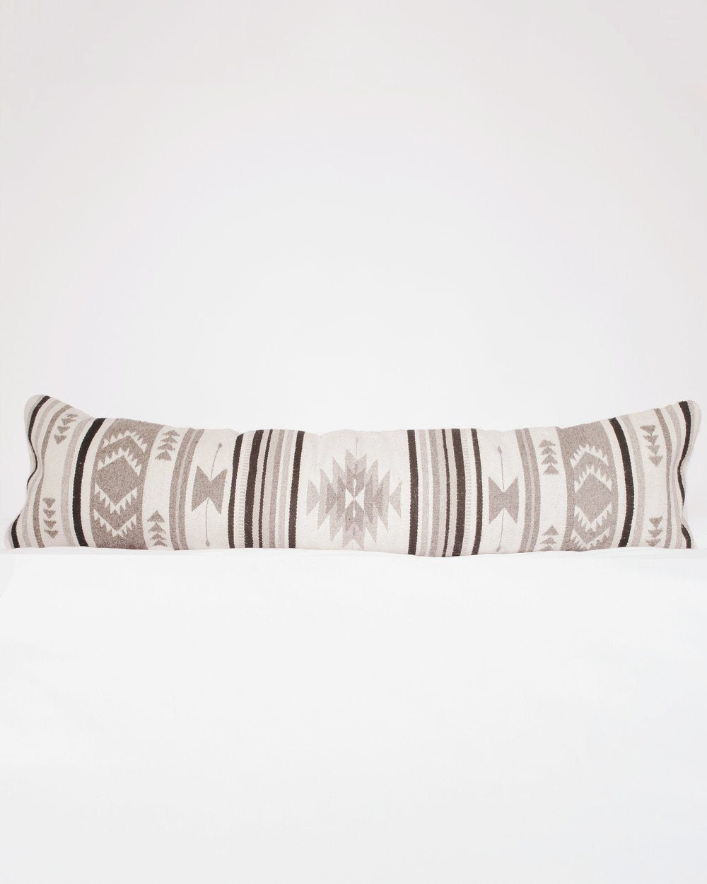 August Sage Mariposa Gris Lumbar Pillow Pillows August Sage