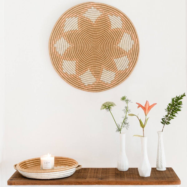 Azizi Life Neri Flat Woven Wall Hangings Wall Hangings Azizi Life