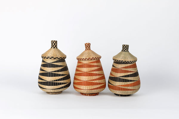 Azizi Life Teardrop Basket Traditional Baskets Azizi Life