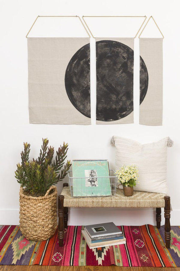 Ballena Wall Hanging - Black Decor Conejo & Co