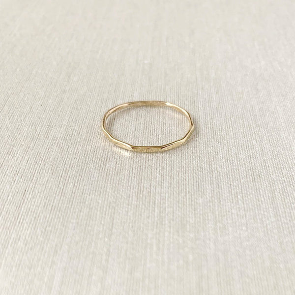 Be Light Stacking Ring Rings Sara Patino Jewelry