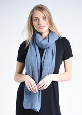 Bloom & Give Anufred Scarf - English Blue Scarves Bloom & Give-12629686190143