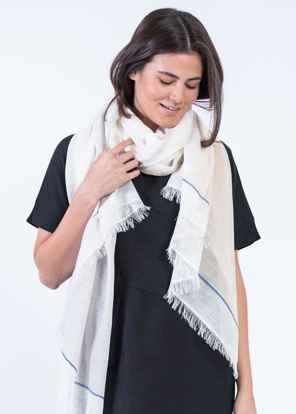 Bloom & Give Bela Scarf - Natural Scarves Bloom & Give