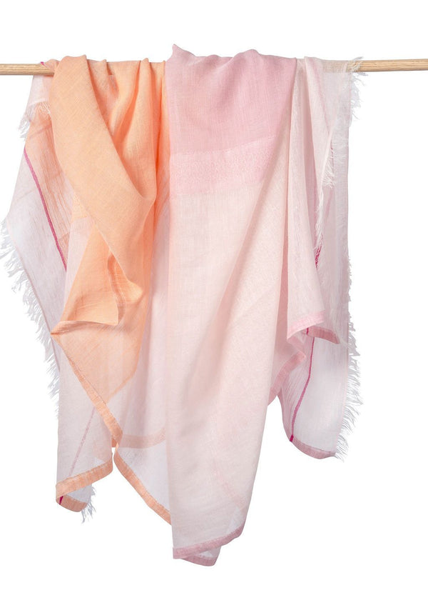 Bloom & Give Bela Scarf - Peach Scarves Bloom & Give
