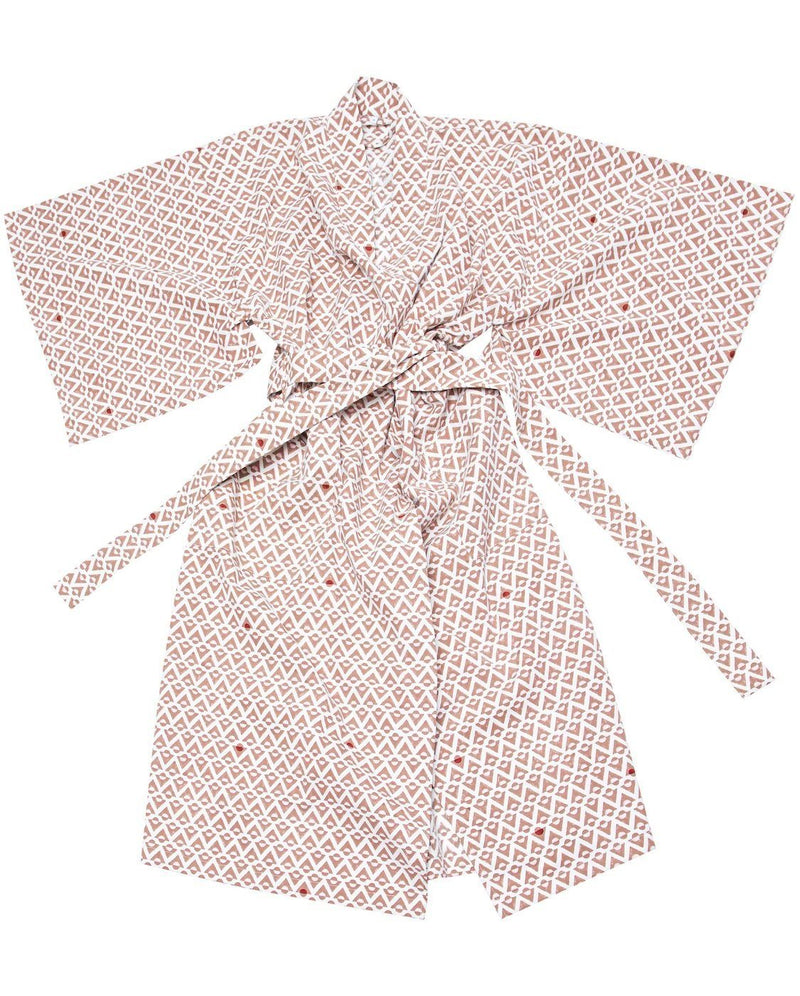 Bloom & Give Daffodil Kimono Robe Robes Bloom & Give