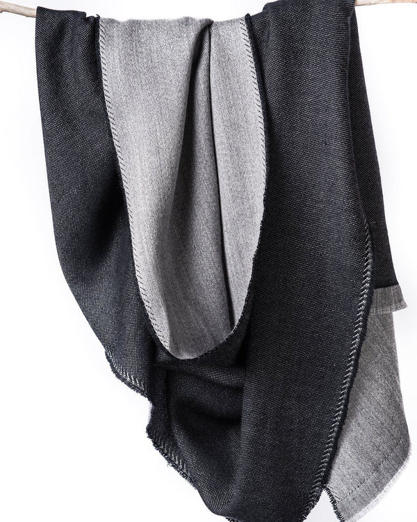 Bloom & Give Eden Reversible Scarf - Black Scarves Bloom & Give