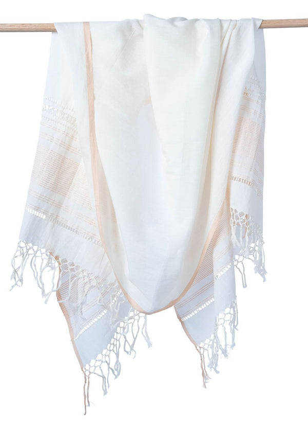 Bloom & Give Hawa Scarf - Peach Scarves Bloom & Give