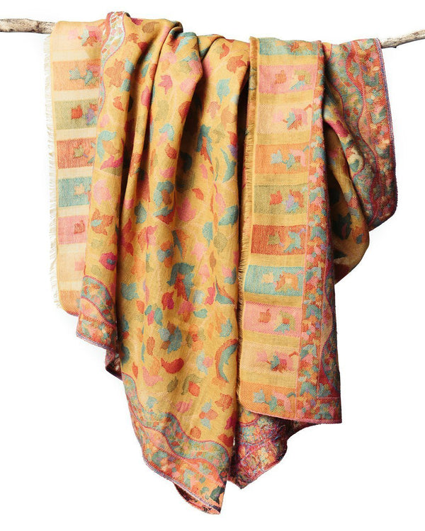 Bloom & Give Kani Woolen Scarf - Amber Scarves Bloom & Give