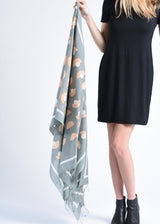Bloom & Give Kazuko Scarf Scarves Bloom & Give-12629689991231