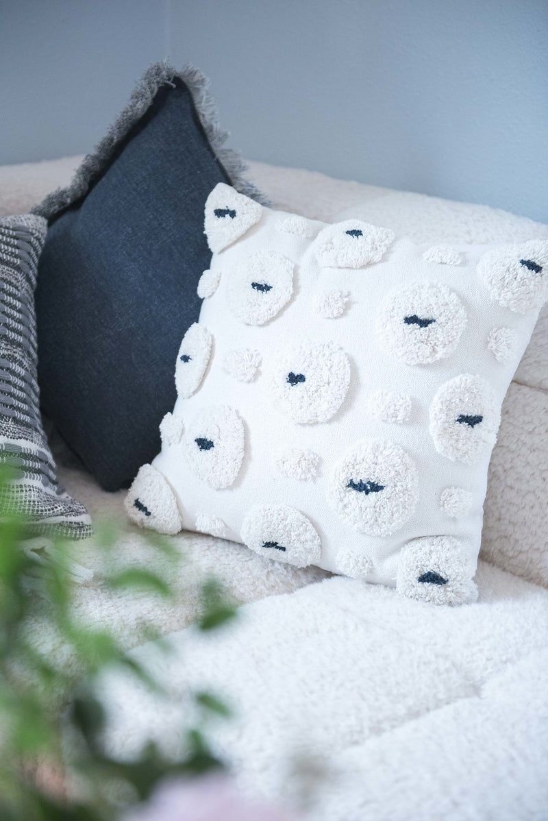 Bloom & Give Lavendale Cotton Pillow Pillows Bloom & Give