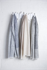 Bloom & Give Malabar Gray Cotton Scarf Scarves Bloom & Give -15675130740799