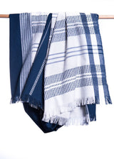 Bloom & Give Neela Throw - Indigo Throws Bloom & Give-5244336767039