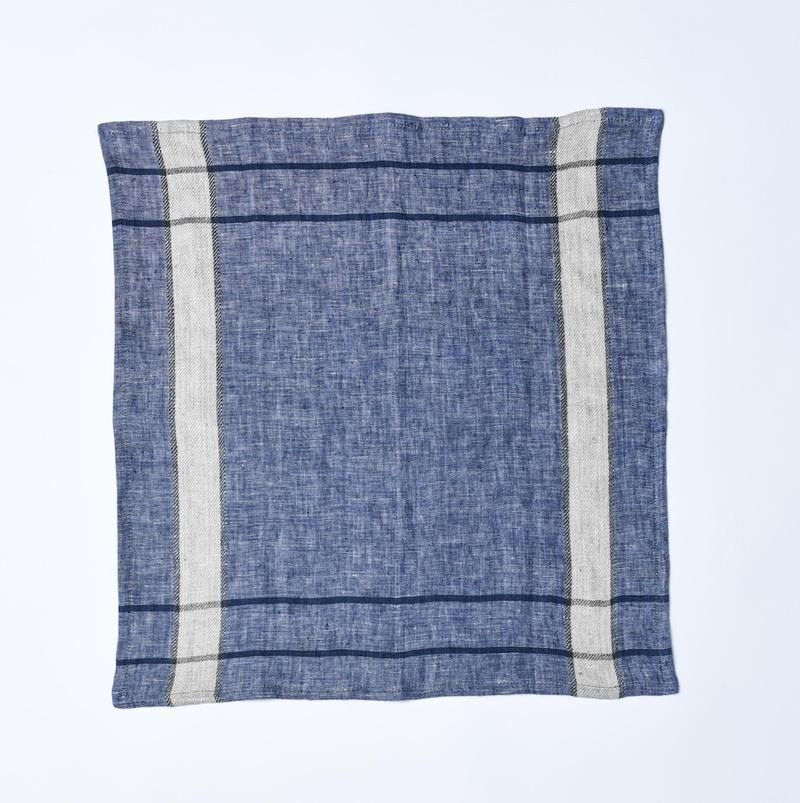Bloom & Give Nima Napkins - Chambray Blue Kitchen & Tabletop Bloom & Give