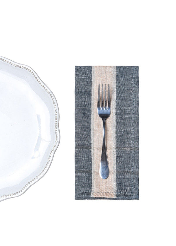 Bloom & Give Nima Napkins - Charcoal Kitchen & Tabletop Bloom & Give