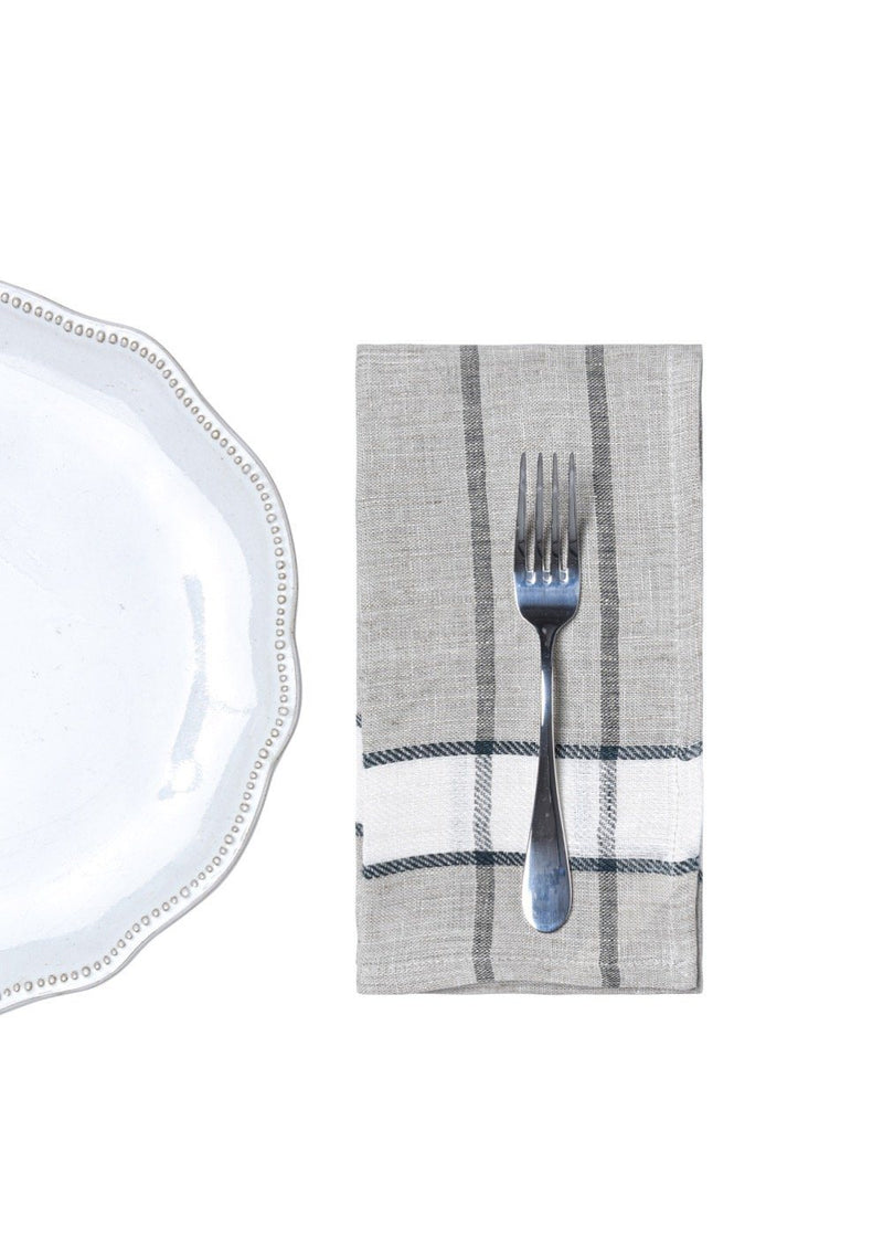 Bloom & Give Nima Napkins - Silver Kitchen & Tabletop Bloom & Give