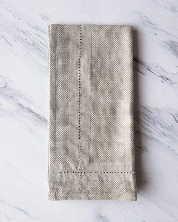 Bloom & Give Picot Handloomed Napkins Kitchen & Tabletop Bloom & Give
