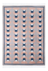 Bloom & Give Tushar Dhurrie Rug Rugs Bloom & Give -14214395592767