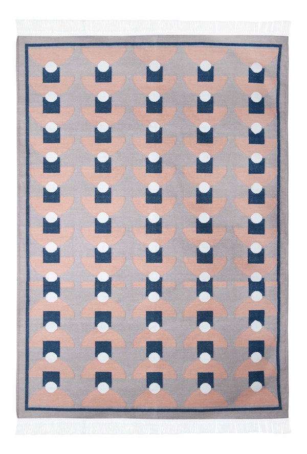 Bloom & Give Tushar Dhurrie Rug Rugs Bloom & Give