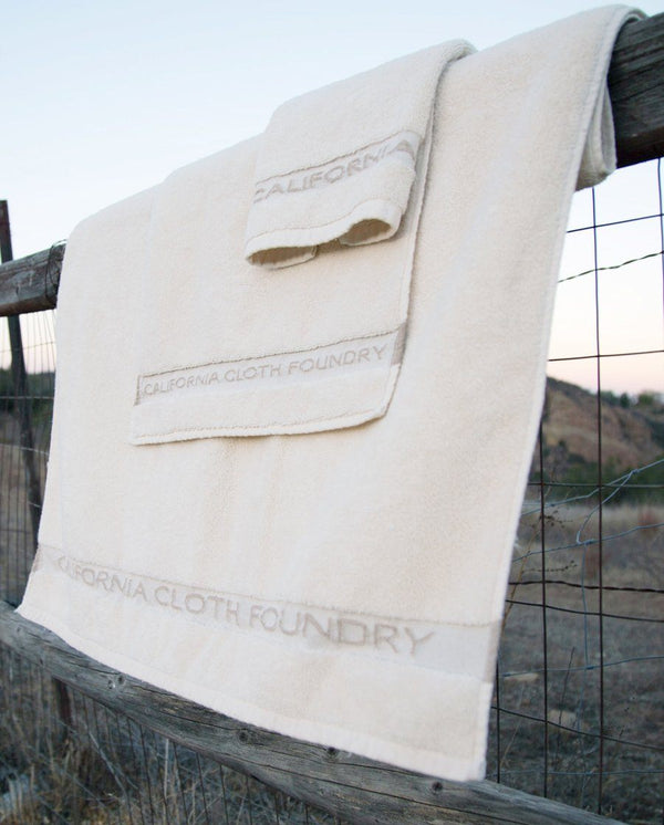 California Cloth Foundry Cleaner Cotton Towels California Cloth Foundry