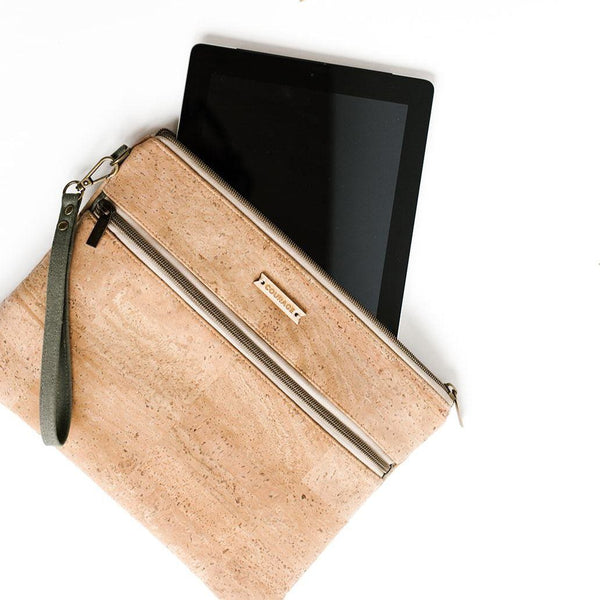Carry Courage INVENTOR tablet organizer | NATURAL tablet organizer Carry Courage