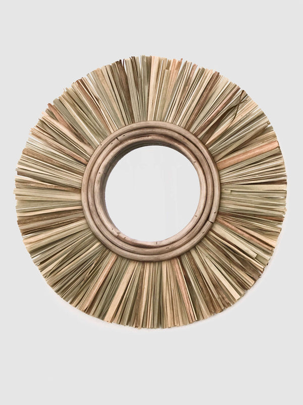 Ceremonia papyrus mirror home decor Ceremonia