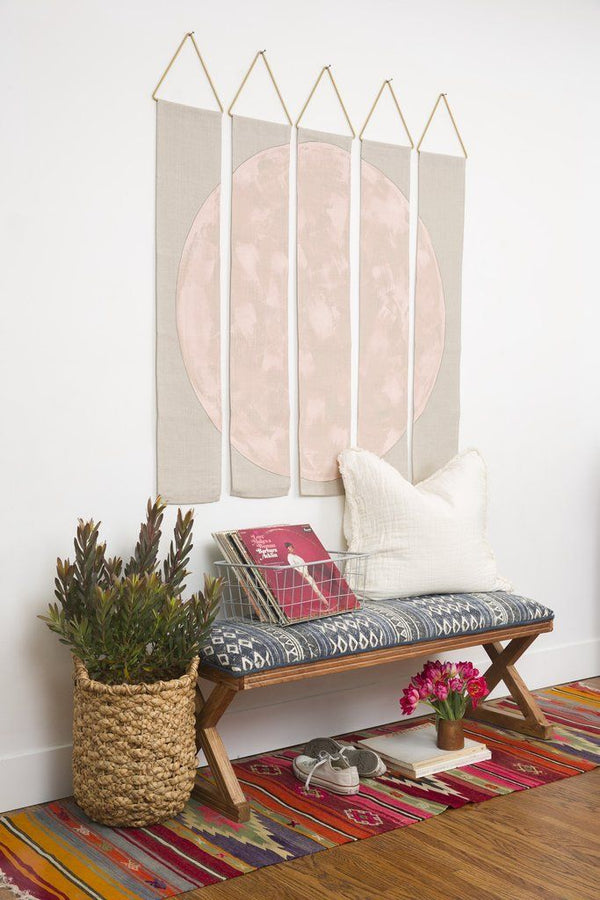 Conejo & Co Oso Wall Hanging - Blush and Beige Home Decor Conejo & Co