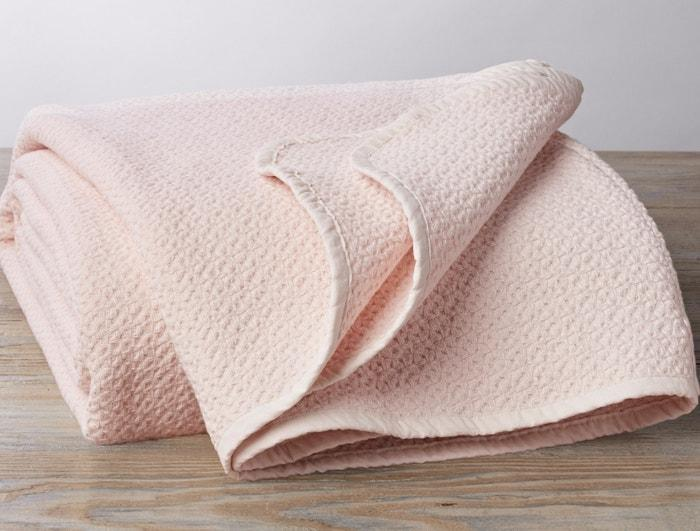 Coyuchi Honeycomb Organic Baby Blanket - Camellia Bedding and Bath Coyuchi