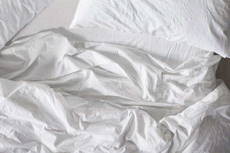 Coyuchi Organic Crinkled Percale Sheet Set Made Trade