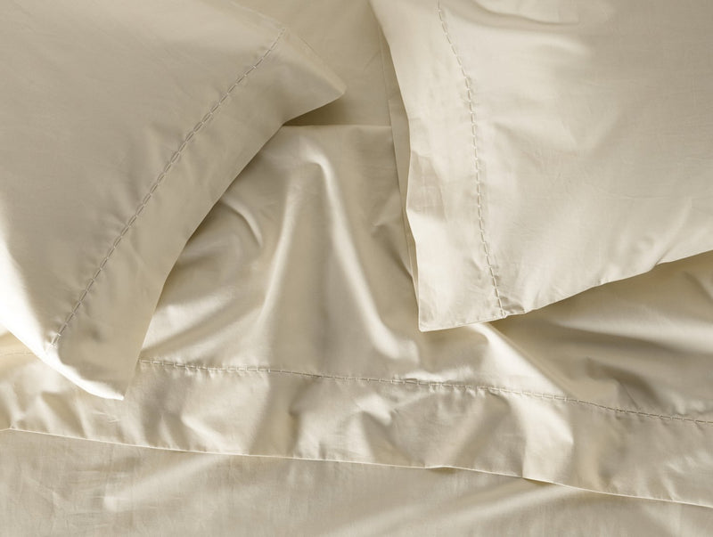 Coyuchi Organic Sateen Sheet Set - Undyed Bedding and Bath Coyuchi