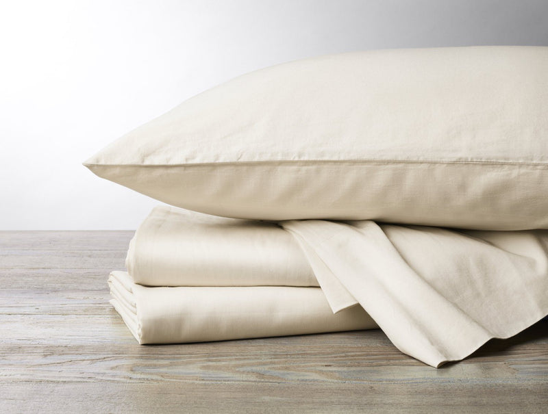 Coyuchi Organic Sateen Sheet Set - Undyed Bedding and Bath Coyuchi King Undyed