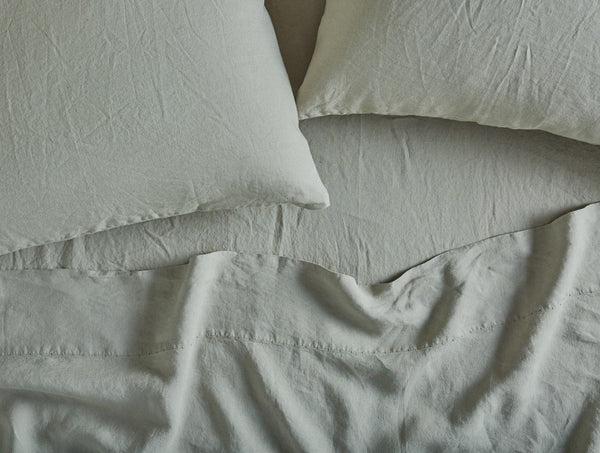 Coyuchi Relaxed Linen Pillowcases - Laurel Bedding and Bath Coyuchi