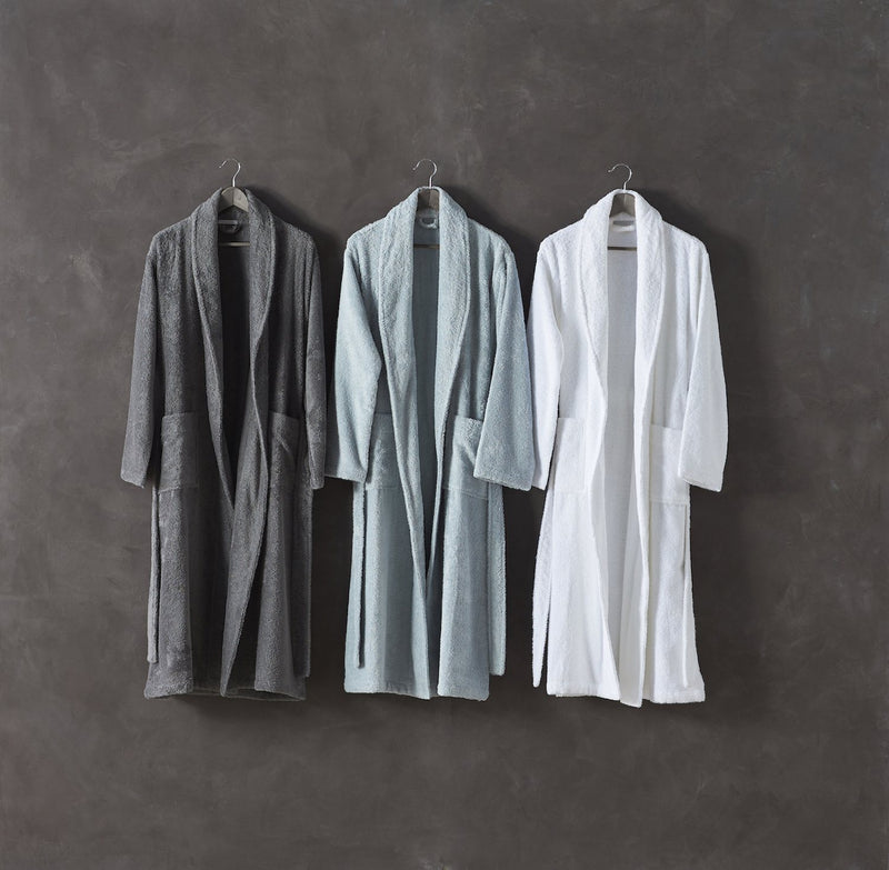 Coyuchi Unisex Cloud Loom Organic Robe Made Trade