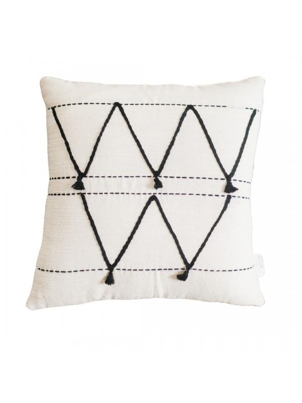 Creative Women Atlas Pillow - Cream Pillows Creative Women