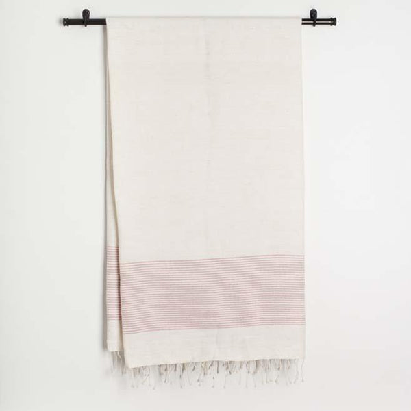 Creative Women Riviera Cotton Bath Towel - Blush Creative Women