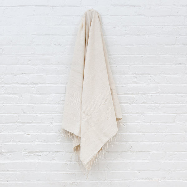 Creative Women Riviera Cotton Bath Towel - Natural Creative Women