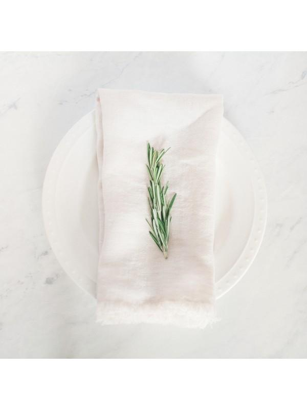 Creative Women Stone Washed Linen Dinner Napkin - Standstone Creative Women