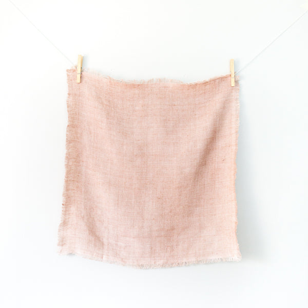 Creative Women Stone Washed Linen Napkin - Blush Creative Women