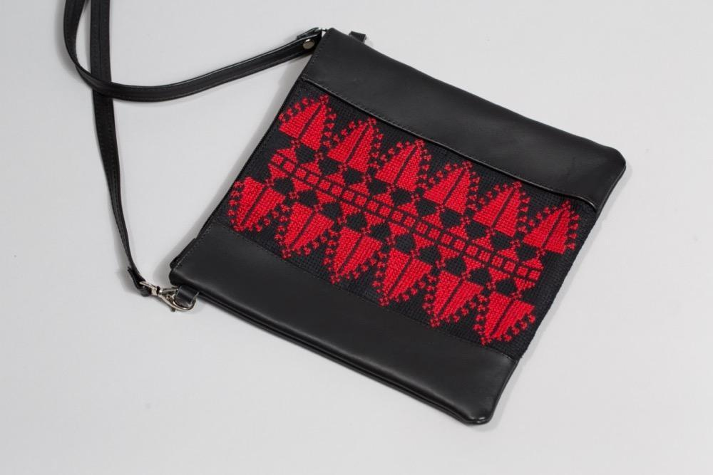Darzah The Red Cypress Crossbody Bag Darzah